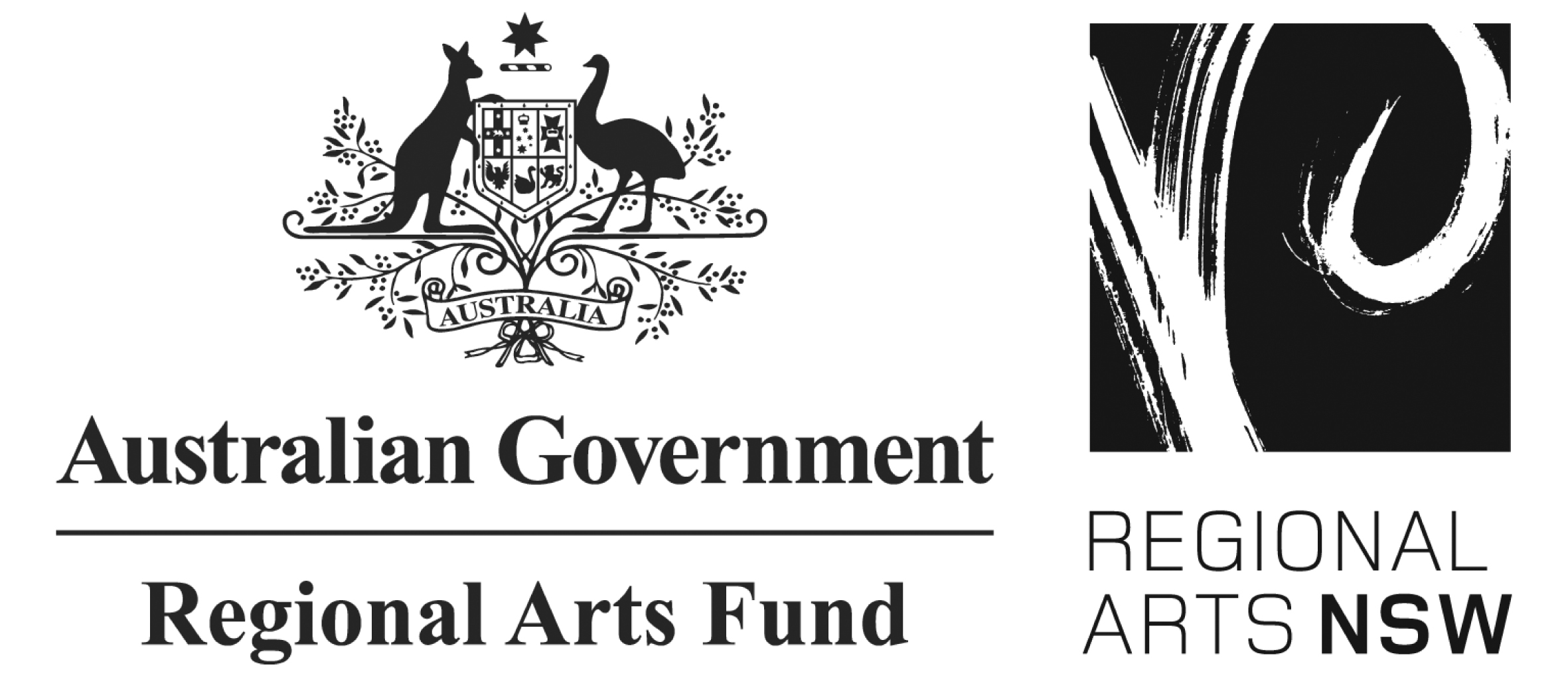 Regional Arts Fund Quicks logo