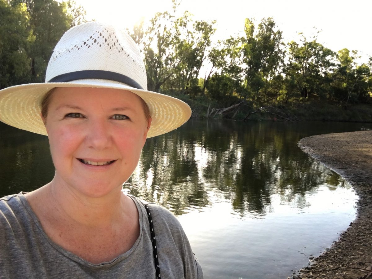 Kim V. Goldsmith on the Macquarie River